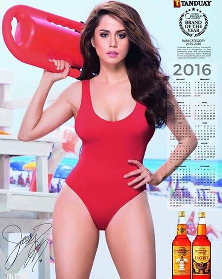 Jessy Mendiola for Tanduay Calendar 2016