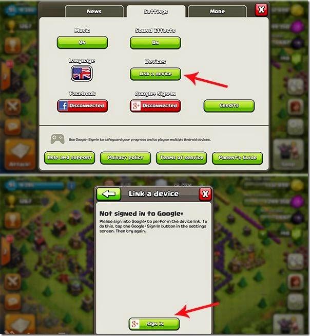 cara pintar dan tepat bermain banyak akun clash of clans