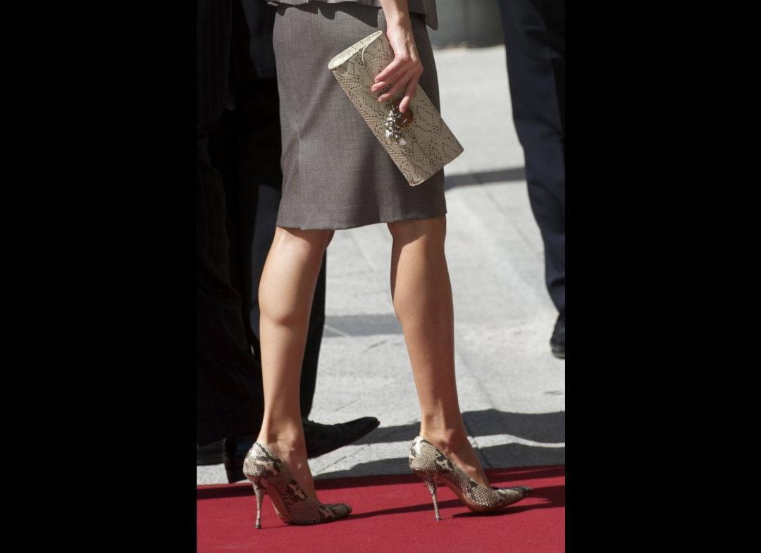 Princess Letizia Steps Out In
