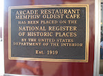 The Arcade Restaurant where we ate breakfast in Memphis TN 07212012-02
