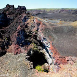 As cores incríveis do Vulcão Sierra Negra - Isabela - Galápagos, Equador