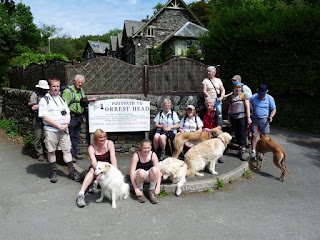 Group photo in Windermere
