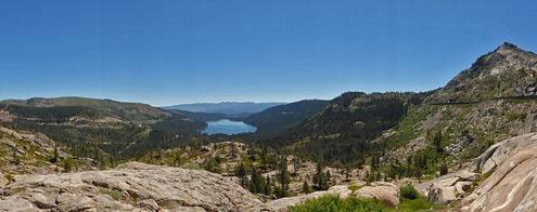 Donner Lake from Scenic U.S. 40