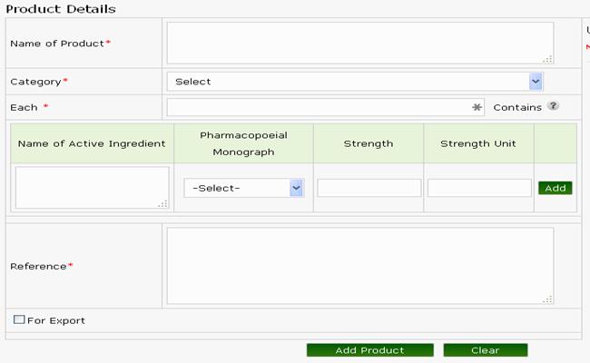 Product Inclusion FDA MP