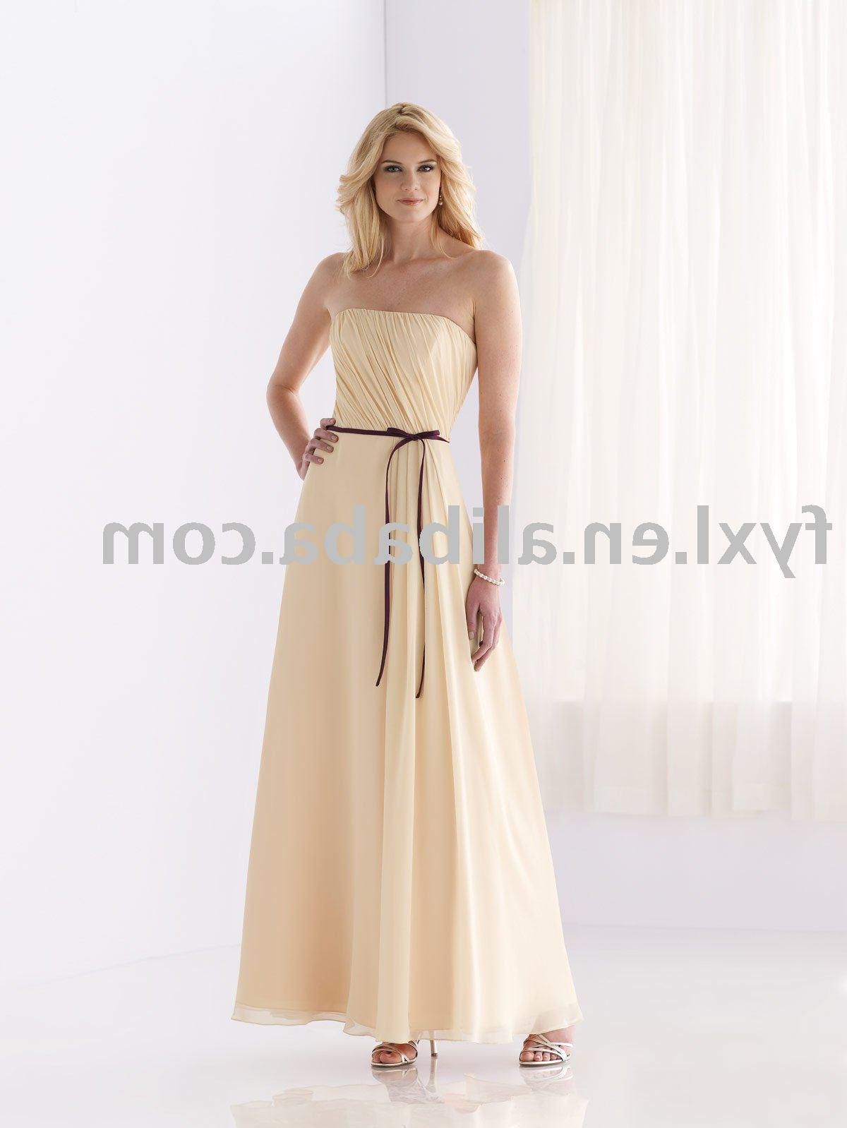 long bridesmaid dress ED-82