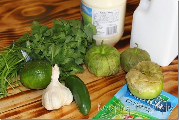 #ad Delimex-taco-bar-with-pico-de-gallo-and-cilantro-ranch-dressing #DelimexFiesta (2)