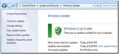 windows update 8