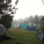 Campamento montado