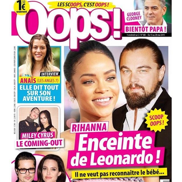 Leonard Dicaprio To Sue French Magazine Over Rihanna Pregnancy Story!