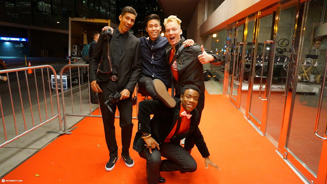 YouTubers at the Roy Thompson Hall Gala opening for Bufferfest 2015 in Toronto, Ontario, Canada