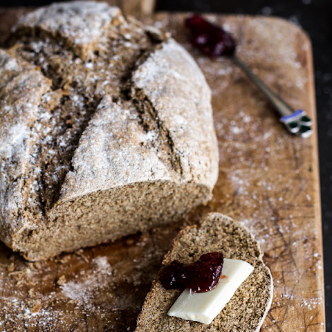 Beer and Rye Irish Soda Bread.