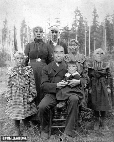 Lola Ni Dora throwback photo - family