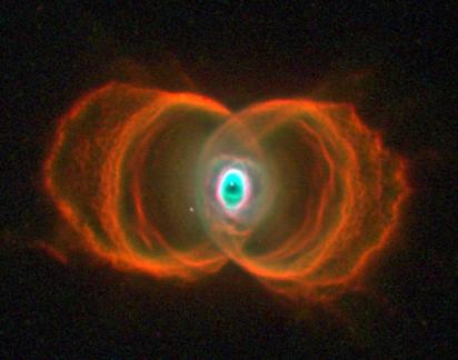 nebulosa planetária MyCn18