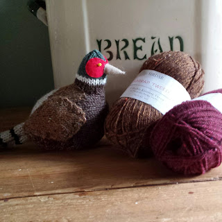 Pheasant knitting pattern