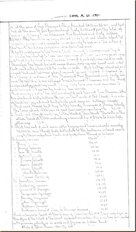 Henry Dawson file partition Mary Irwin 12