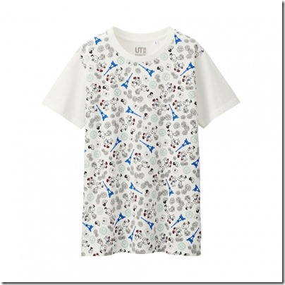 UNIQLO UT X Peanuts Movie Women Short Sleeve Graphic T-Shirt 04