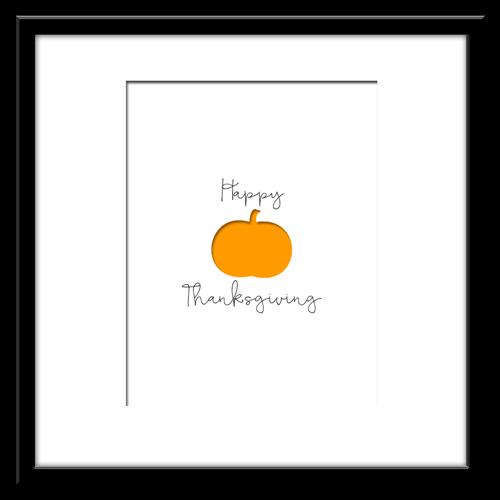 Free Printable - Happy Thanksgiving Art Print