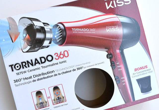 KISS Tornado Ionic Hair Dryer Review