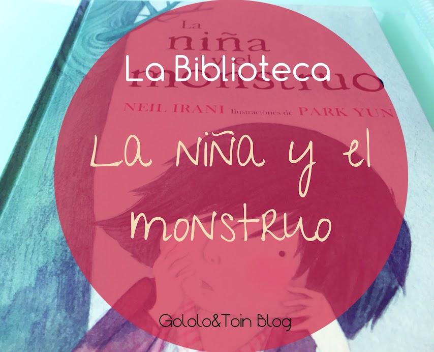 biblioteca-literatura-cuento-album-ilustrado-autoestima-niña-y-el-monstruo