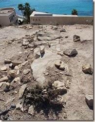 Fuerte ibérico de Aigües Baixes - restos de muro
