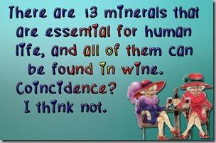 13 minerals