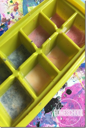 easy color mixing activity for kids
