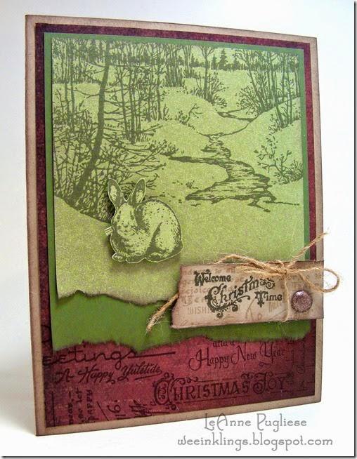 LeAnne Pugliese WeeInklings Artistic Outpost Christmas Vintage