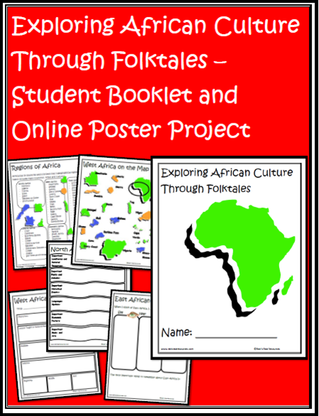 Throw out the poster boards! - Use online posters instead - great for research project, persuasive writing and almost any science or social studies topics - ideas and website suggestions from Raki's Rad Resources. african folktale project