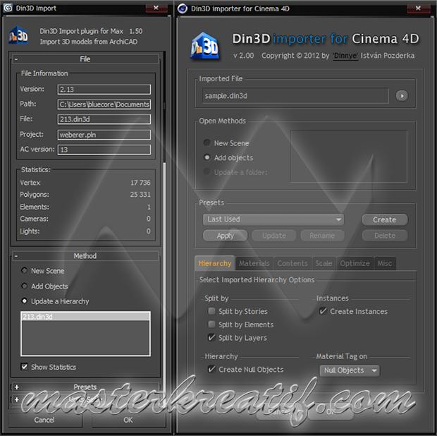 Din3D Importer