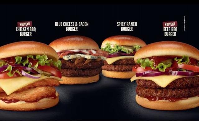 McDonald's France Signature Burgers