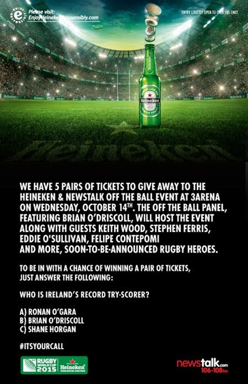 Heineken event comp