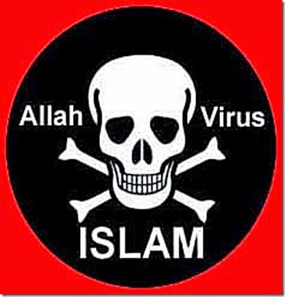 Skull-Cross Bones & Allah Virus