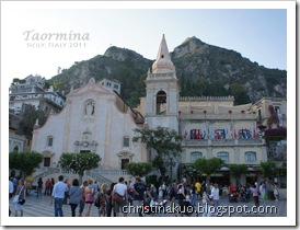 【Italy♦義大利】西西里*Taormina 陶爾米納 - 優美文雅的渡假山城~ 溫貝多一世大道, 四月九號廣場, 主教堂