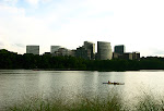 Rosslyn Virginia, across the Potomac River, taken From Georgetown, Washington, DC.
