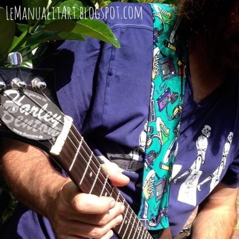 Día M... correas de guitarra originales