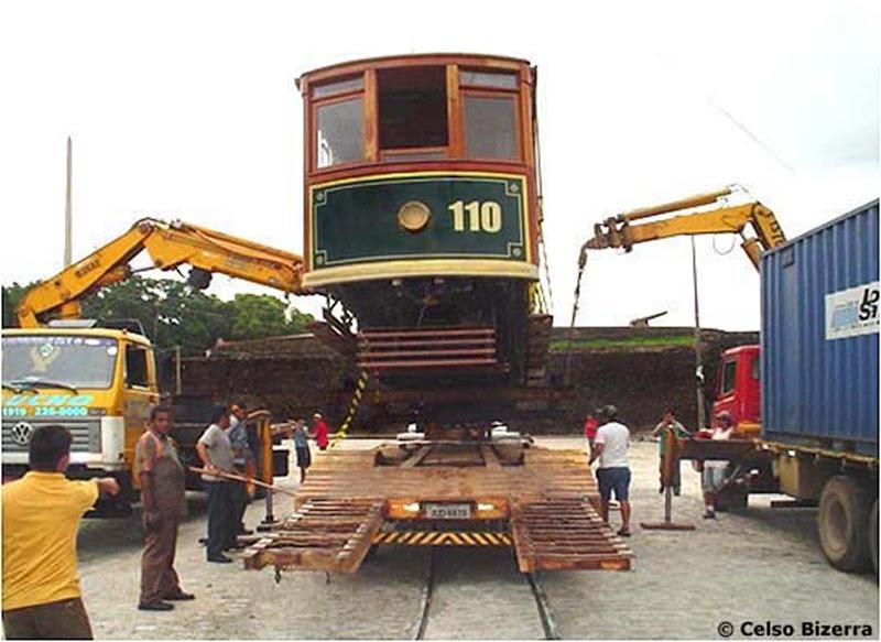 Bondinho de Belém, trasporto a Santos - Belém do Parà, fonte: Celso Bizerra