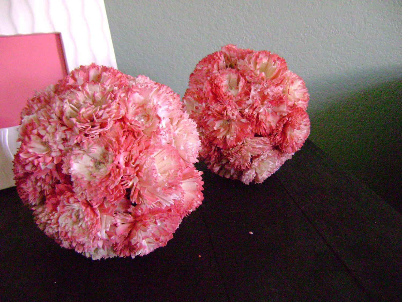 Pink Carnation Flower Ball