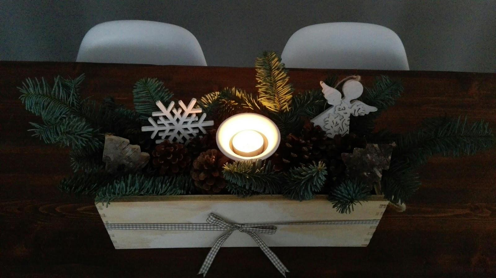 Il blog di El: Centrotavola natalizio