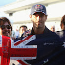 Mark Webber (AUS/ Red Bull Racing) with fans