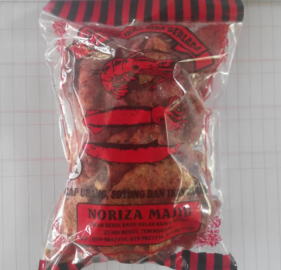 Keropok ikan sira berlada Noriza Majid