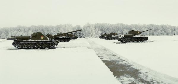 прохоровка прохоровское поле музей танки