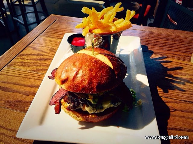 RnR Scottsdale Gastropub Bacon Brussels Burger