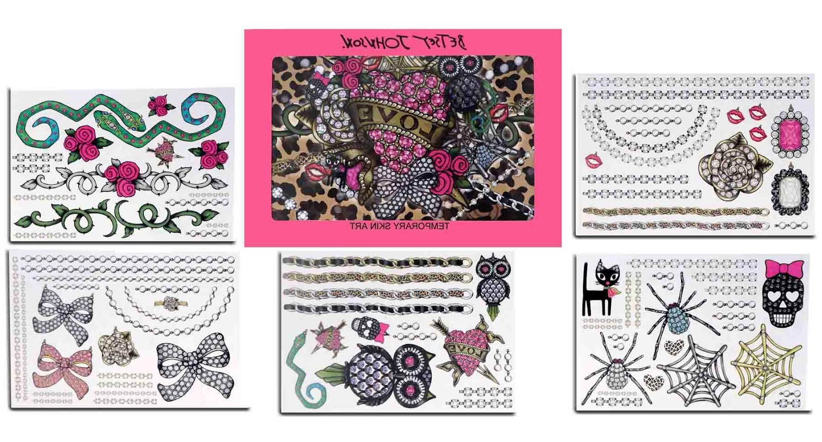 fashion temporary tattoos