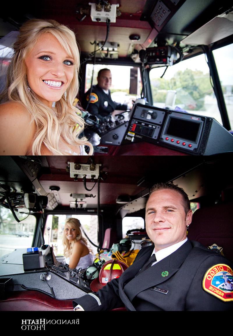 firefighter wedding theme