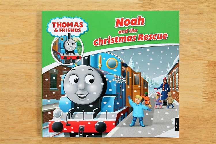 thomas & friends personalised christmas book review