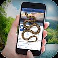 App Snake on Screen Funny Joke apk for kindle fire