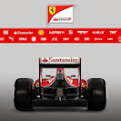 Ferrari F14 T back view