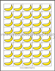 Preschool Alphabet: B is for Banana