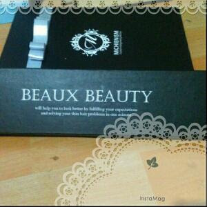 Box packaging hair clip