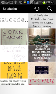 Frases de Saudades- screenshot